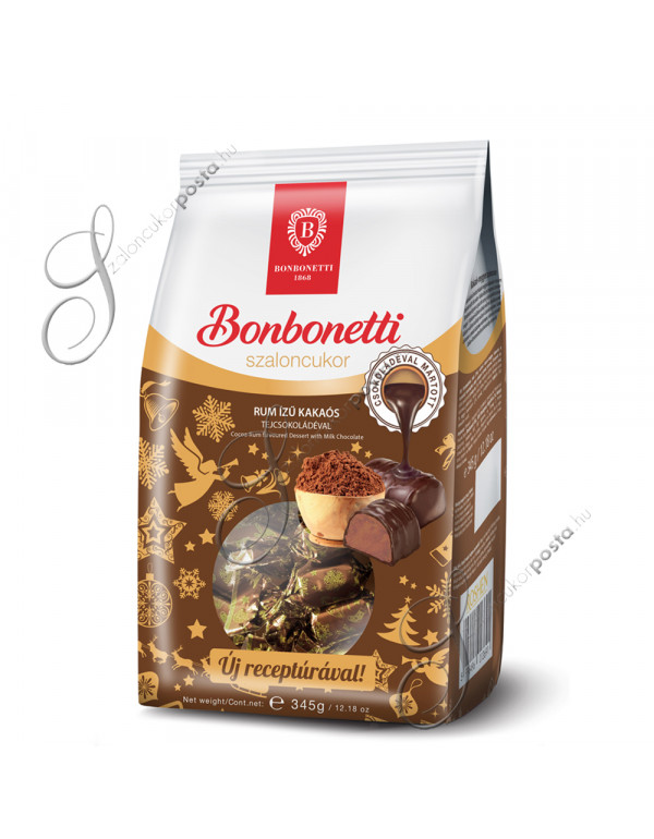 Bonbonetti rumos-kakaós szaloncukor