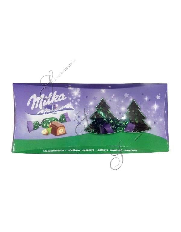 Milka mogyorókrémes szaloncukor